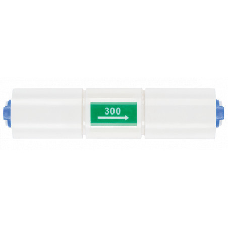 300 ml/min Flow Restrictor for R.O. Systems