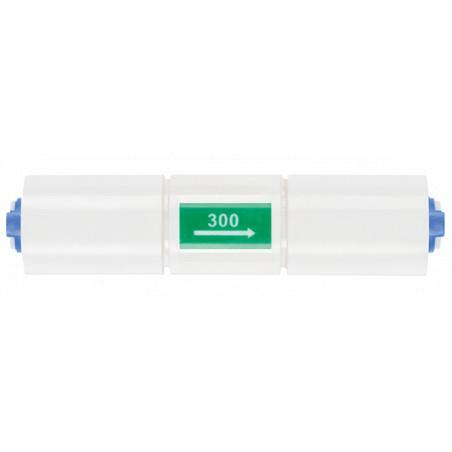 300 ml/min voolu piiraja R.O. süsteemidele