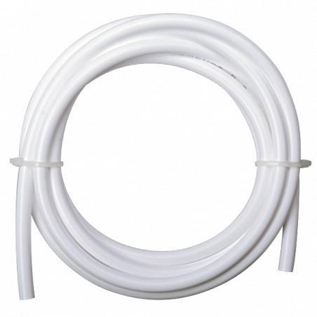 "Polyethylene Plastic Tubing, White, 11/64"" ID x 1/4"" OD, 3 meter"